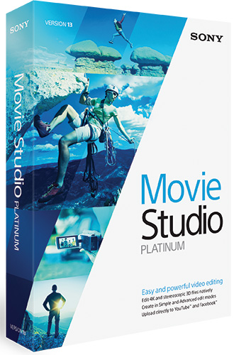 Sony Vegas Movie Studio Platinum 13.0 EDU WIN
